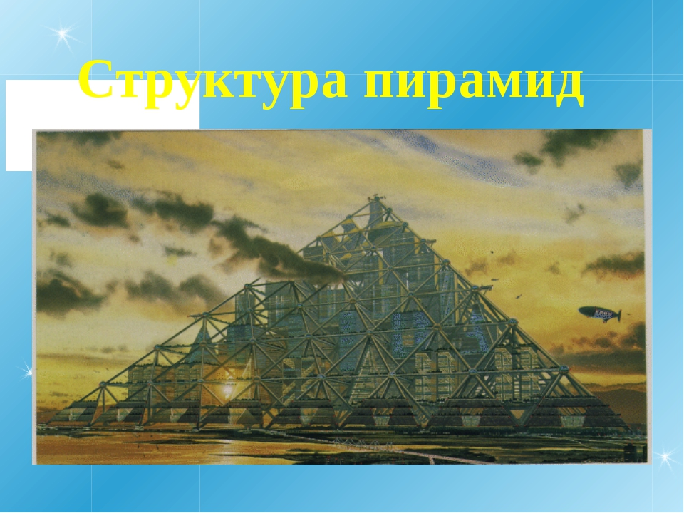 Структура пирамид