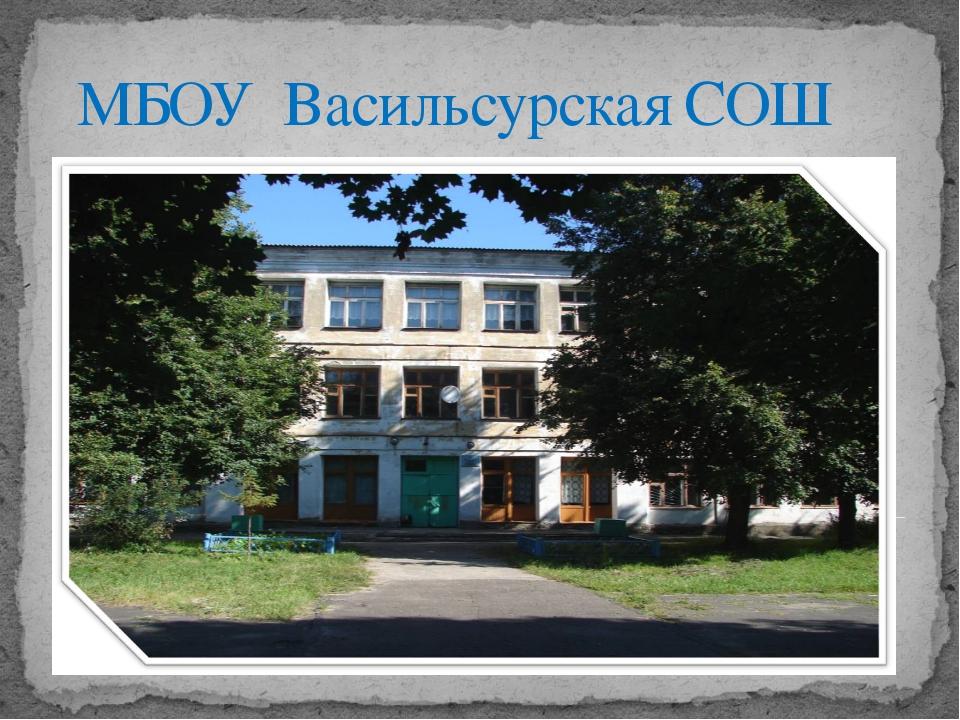 МБОУ Васильсурская СОШ