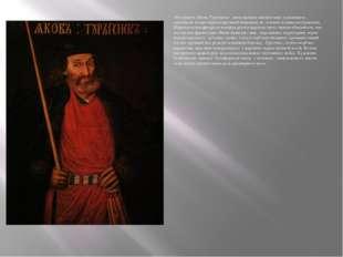 «В портрете Якова Тургенева» , выполненном неизвестным художником , заметны н