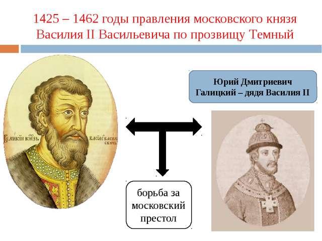 1425 – 1462 годы правления московского князя Василия II Васильевича по прозви...