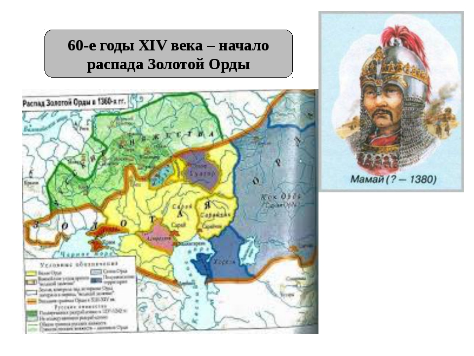 60-е годы XIV века – начало распада Золотой Орды