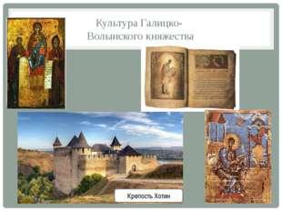 Культура Галицко- Волынского княжества Крепость Хотин