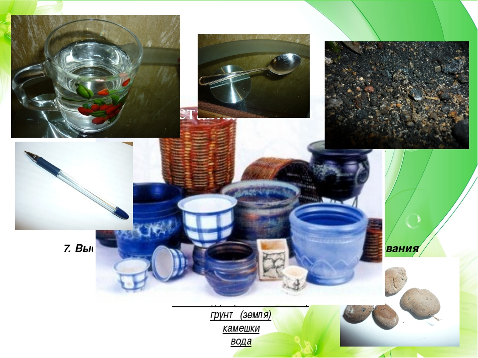 7. Выбор ткани, инструментов , приспособлений, оборудования Для посадки какту...