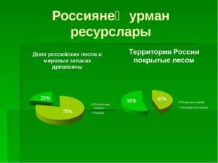 Россиянең урман ресурслары