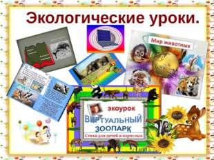http://aida.ucoz.ru Экологические уроки.