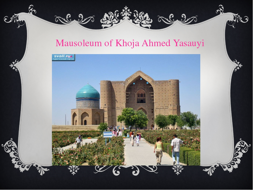 Mausoleum of Khoja Ahmed Yasauyi