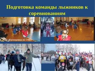 Подготовка команды лыжников к соревнованиям Тренировка по ОФП