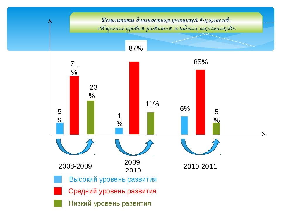 2008-2009 2009-2010 2010-2011 5% 71% 223% 1% 87% 11% 6% 85% 5% Результаты ди...
