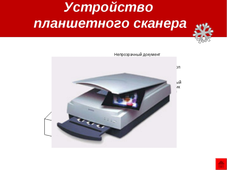 Устройство планшетного сканера