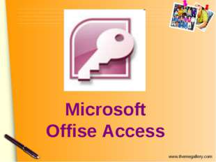 Microsoft Offise Access www.themegallery.com