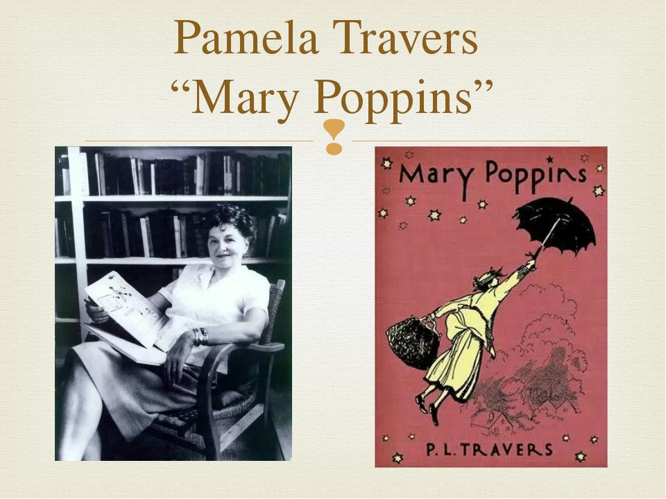 "Pamela Travers ""Mary Poppins"" "