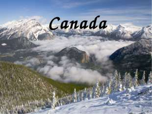 Canada Canada occupies most of the northern part of North America. 75% of the