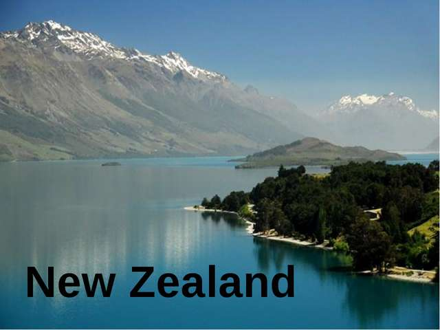 New Zealand The state is situated in the south-western part of the Pacific O...
