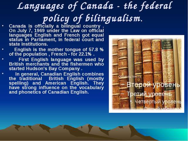 Religion Canadians worship a large number of religions. Most Canadians consid...
