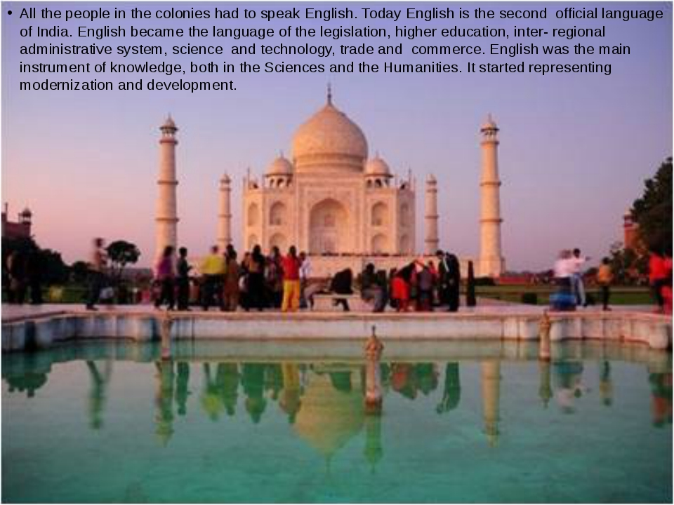 People in India owe their acquaintance with tea the British. Before that they...