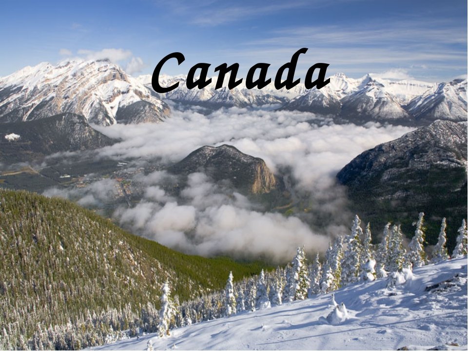 Canada Canada occupies most of the northern part of North America. 75% of the...