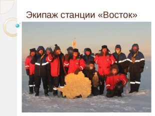 Экипаж станции «Восток»