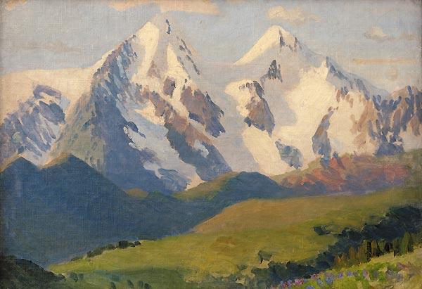 Г.И. Чорос-Гуркин. Гора Белуха. 1926