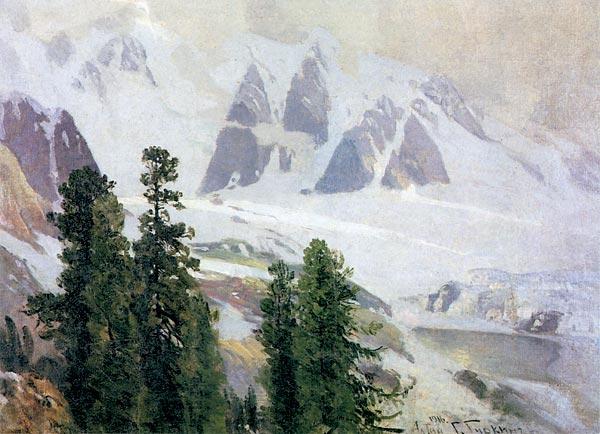 Г.И. Чорос-Гуркин. Алтай. 1916.