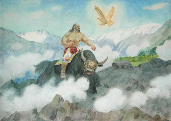 М.П. Чевалков. Когутей и Суйла-Хан. 1993