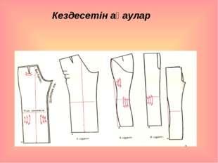 Кездесетін ақаулар