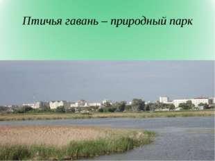 Птичья гавань – природный парк