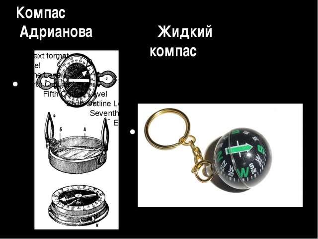 Компас Адрианова Жидкий компас