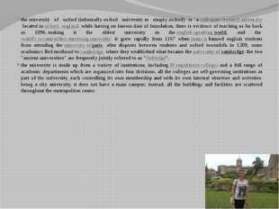 theuniversity of oxford(informallyoxford universityor simplyoxford) is a