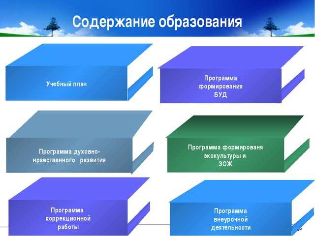 www.themegallery.com Company Logo Содержание образования Программа коррекцион...