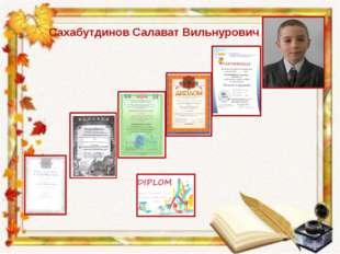 Сахабутдинов Салават Вильнурович