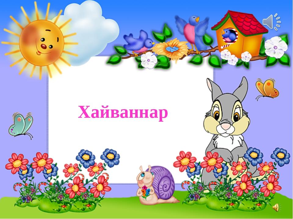 Хайваннар