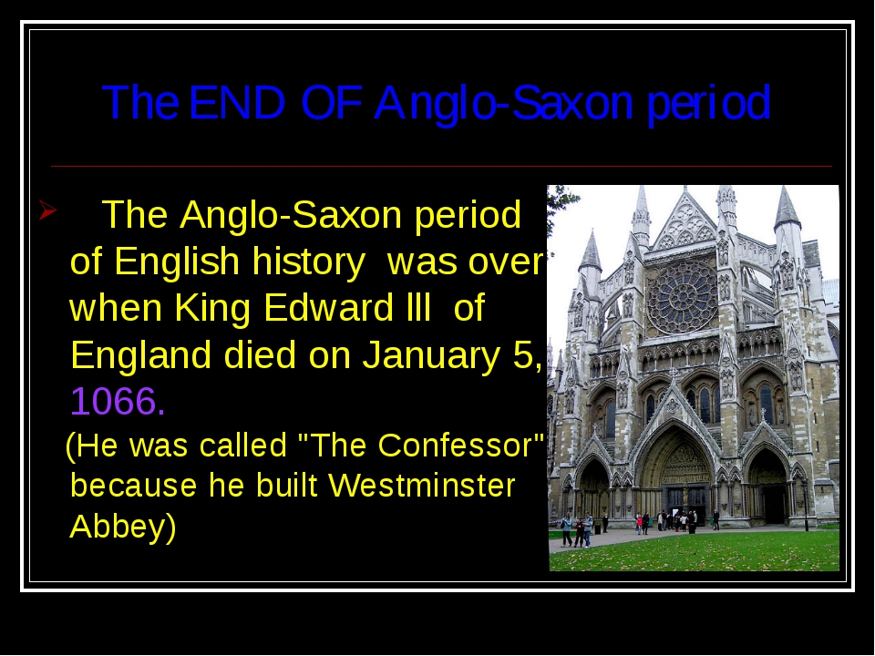 an overview of the history of the anglo saxon belief in christianity Start studying anglo-saxon background what were anglo-saxon religious beliefs he was an abbot and soldier that help the anglo-saxons accept christianity.