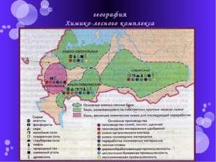 география Химико-лесного комплекса