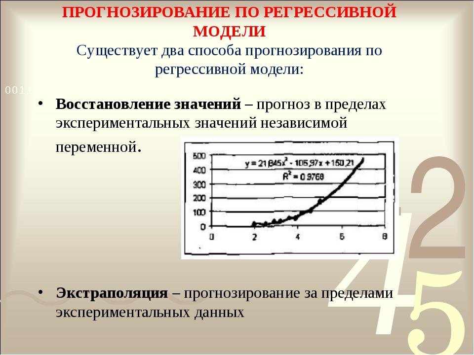 Практическая работа модели статистического прогнозирование высокооплачиваемая работа для девушек а границей