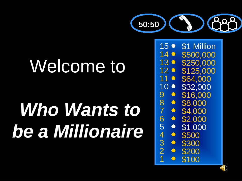 Download free Who Wants To Be A Millionaire Game Ppt - samplebackup