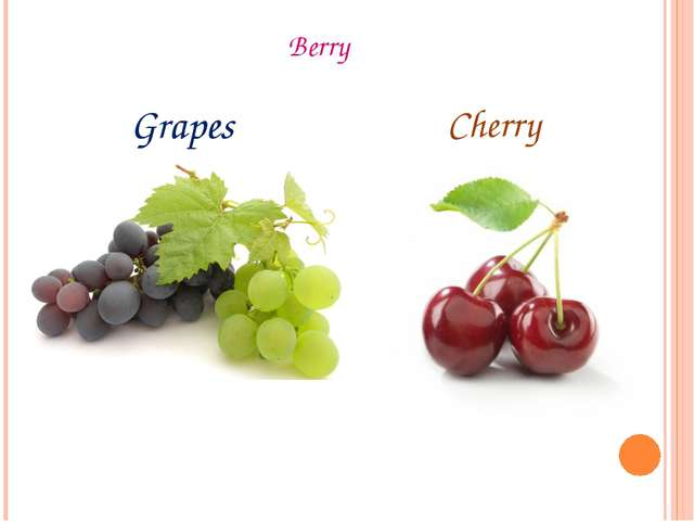 Berry Grapes Cherry