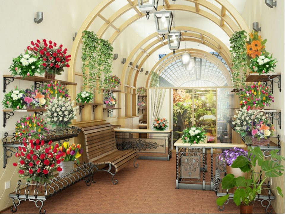 Дизайн цветочный