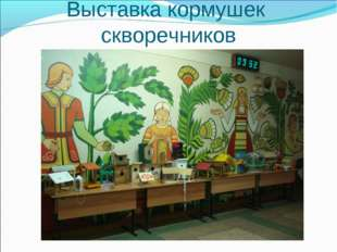 Выставка кормушек скворечников
