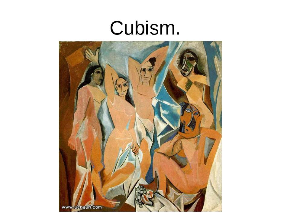 Cubism.