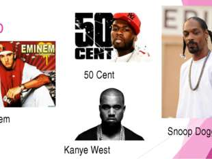 rap Eminem Kanye West 50 Cent Snoop Dogg