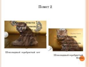 Помет 2 Шоколадный серебристый. Кошка Шоколадный серебристый кот