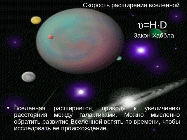 Вселенная расширяется, приводя к увеличению расстояния между галактиками. Мож...