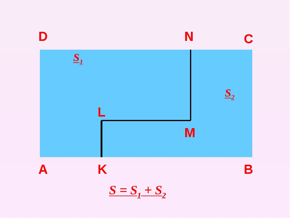 А D C B K L M N S = S1 + S2 S1 S2