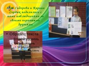 Лера Сидорова и Карина Сердюк поделились с нами наблюдениями за своими пернат