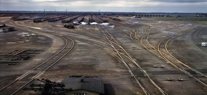 Американские железные дороги 1940-х годов