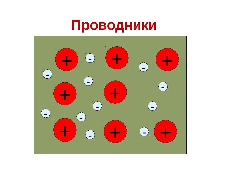 Проводники - - -