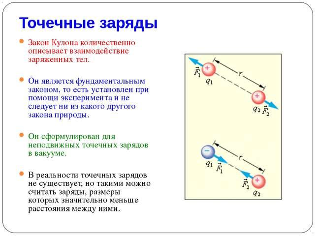 Примеры решения задач по физике по теме:закон кулона для 8 класса
