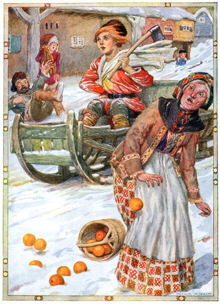 Народные сказки иллюстрации 1910 год