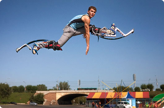 Трюки на джамперах - как прыгать и бегать на джамперах - Hubster.ru