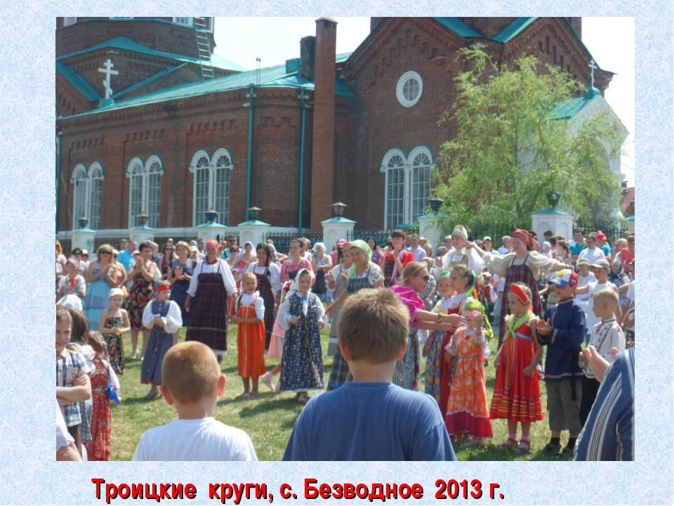 Троицкие круги, с. Безводное 2013 г.